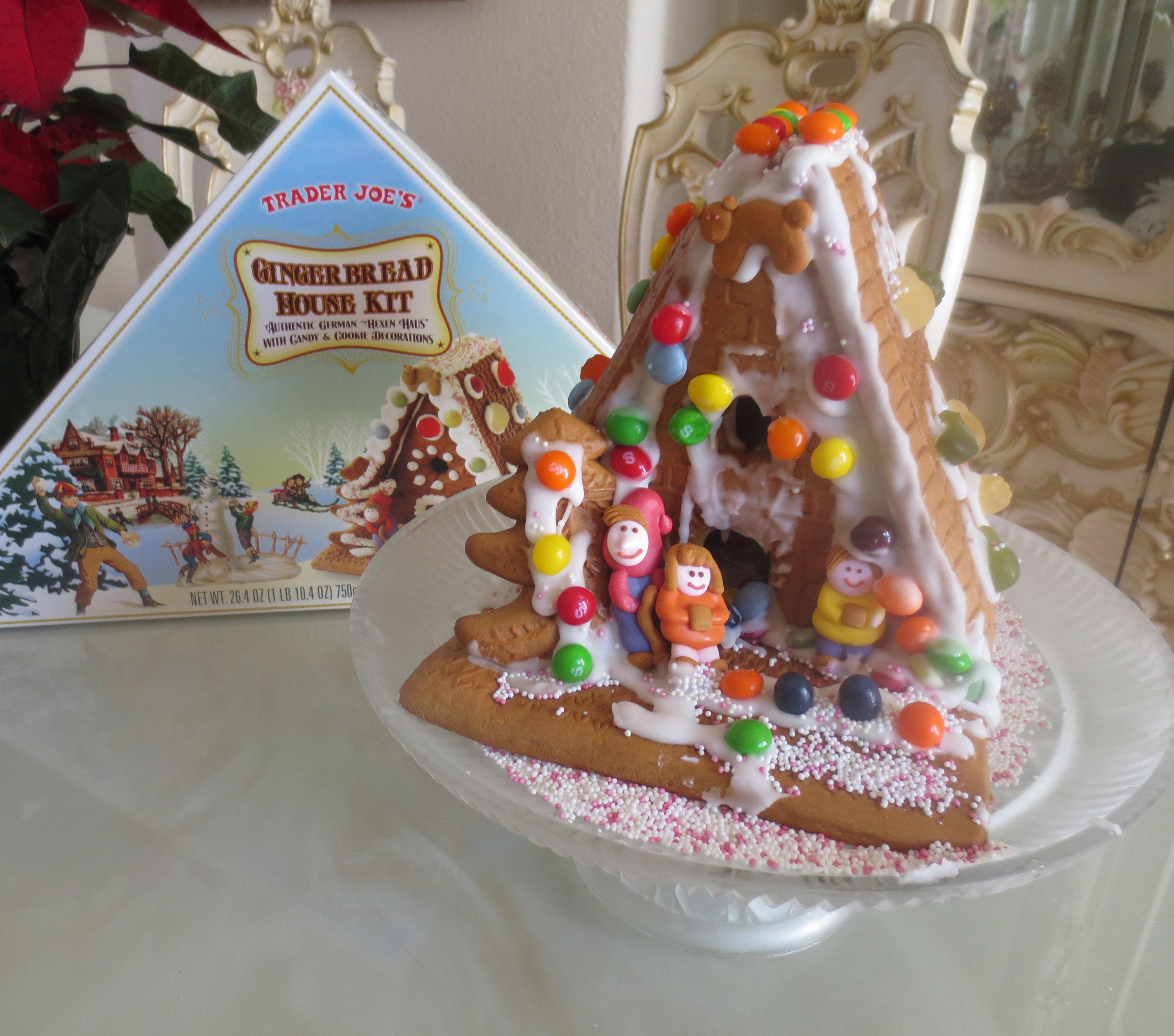 Christmas Gingerbread House Kit.Trader Joe S Gingerbread House Kit The Ranch On Silver Creek